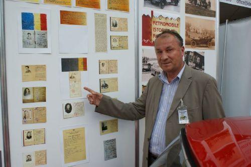 Constantin Anghel Lontoș, vicepreședinte al Clubului vehiculelor de Epocă