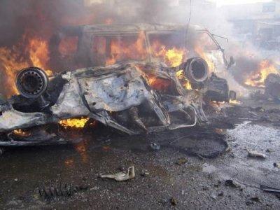 Zeci de morți în urma unui atac cu mașină-capcană la Damasc