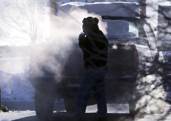 Temperaturi de -40 de grade în provincia Quebec