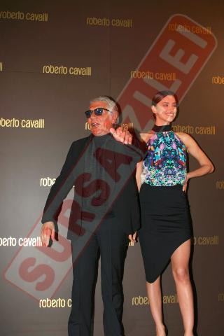 Roberto Cavali si Irina Shayk