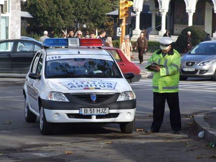 9 polițiști de la Brigada Rutieră, reținuți pentru fapte de corupție